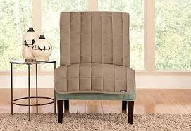 armless chair slipcovers armless chair cover sure fit category deluxe slipcovers slipcover