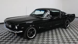 mustang fastback 1965 1965 ford mustang fastback black