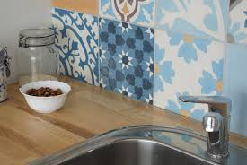 funky patchwork in the kitchen marrakesh cement tiles