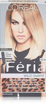 preference wild ombre on short hair amazon com l oreal feria wild ombre hair color o80 light to
