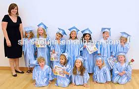 kindergarten cap and gown light blue graduation caps gowns and tassels view light blue