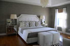 bedrooms grey wall paint light gray paint dark grey bed grey