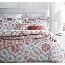 amazon com cynthia rowley bedding 3 piece king duvet cover set