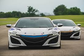 Acura Nsx Black Pair Of 2017 Acura Nsx Supercars To Compete At Pikes Peak