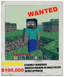 Minecraft Herobrine Memes - minecraft anime herobrine google search for jack pinterest