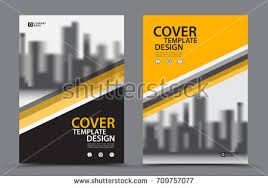 yellow color scheme city background business stock vector