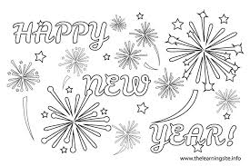 99 happy new year coloring pages for happy new year 2017 happy