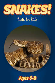 snake facts for kids kids nonfiction book clouducated ages 6 8