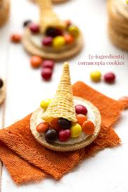 edible treats 3 ingredient cornucopia cookies chelsea s apron