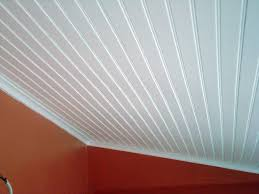ceiling u0026 fan beautify your home using beadboard ceiling
