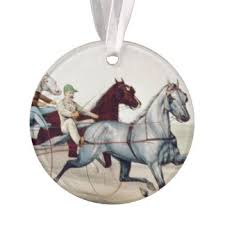 harness racing ornaments keepsake ornaments zazzle