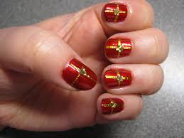 christmas pressie nails midn1ghtbutterfly