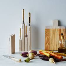 Handmade Japanese Kitchen Knives Berti White Handled Italian Kitchen Knives On Food52