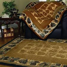 Rustic Rug Clearance Log Cabin Hooked Rug Cabin Place