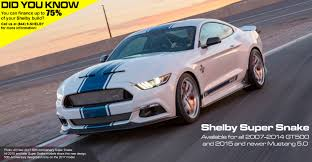 Black Mustang Shelby Gt500 Super Snake Shelby Com