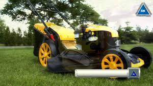 газонокосилка stiga turbo 53 s b youtube