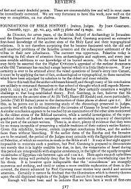 foundations of bible history joshua judges by garstang john