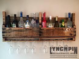 reclaimed wood wine rack lynchpin design company
