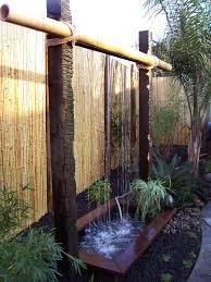 Waterfall Fountains For Backyard best 25 outdoor water features ideas on pinterest garden water