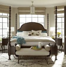 4 post bed sonoma four poster bed frame zin home
