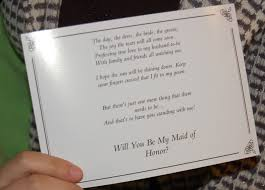 how to ask of honor poem of honor asking poems wedding tips and inspiration