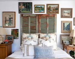 primitive bedroom decor ideas with antique wooden bed frames