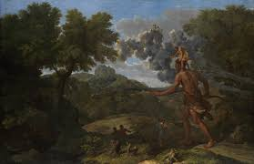 Becoming Blind Seeing Blindness Nicolas Poussin U201cblind Orion Searching For The