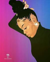 beautiful cartoon women art 1194 best art lover images on pinterest african art african