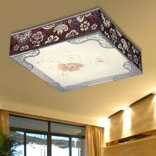 Fluorescent Ceiling Light Fixtures Kitchen Awesome Kitchen Fluorescent Light Fixture Pertaining To Interior