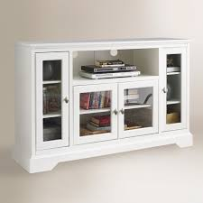 World Market Hutch Antique White Wood Rochester Media Stand By World Market Homebop