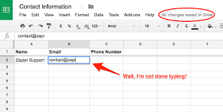 How To Create Google Doc Spreadsheet Common Problems With Google Sheets On Zapier Integration Help