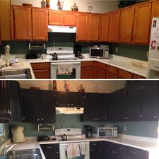 before after kitchen cabinets kitchen cabinet makeover before after sand stain poly