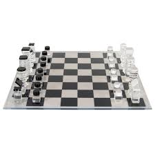 mid century modernist lucite chess set by rona cutler at 1stdibs