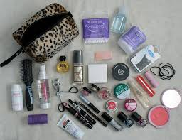 bridal make up essential what to fashion health travel whats in my makeup bag 3