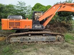 used tata hitachi ex200 excavator price in india heavyequipments in