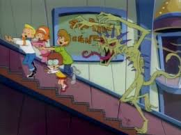 lights camera monster scoobypedia fandom powered by wikia stinkweed chases gang up escalator