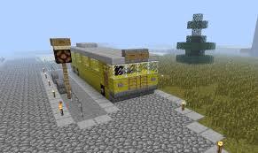 minecraft dump truck public transport bus service minecraft project