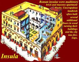 roman insula floor plan roman insula located on the roman city block all types of people