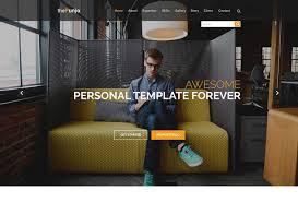 personal portfolio template 30 best free portfolio website psds to download 2017