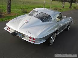 corvette stingray split window for sale chevrolet corvette coupe 1963 sebring silver for sale