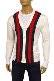 designer clothes gucci mens v neck button up sweater 16