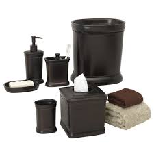 Oil Rubbed Bronze Bathroom Accessory Sets by Bathroom Accessory Set Oil Rubbed Bronze Bath Accessories Ebay