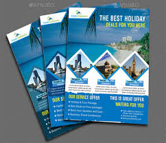travel flyer template 43 free psd ai vector eps format