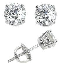 diamond studs for men diamond studs for men mens diamond stud earrings back