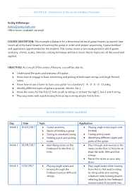 designing the perfect guitar lesson plan and syllabus guitar chalk