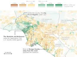 Los Angeles Crime Map by Placeanadlatimescom Main News Earthquake Threats To Californias
