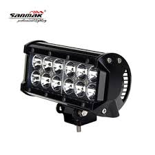12v led light bar 6 5 36w cree spot flood beam double row 12v led light bar for