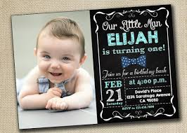 baby boy 1st birthday invitation card addnow info