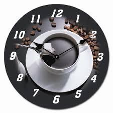 horloge murale cuisine horloge murale espresso image 30 30cm circulaire le droit des