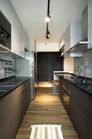 Kitchens And Interiors Home In Singapore Space Savvy Interior Laced With Industrial Elements